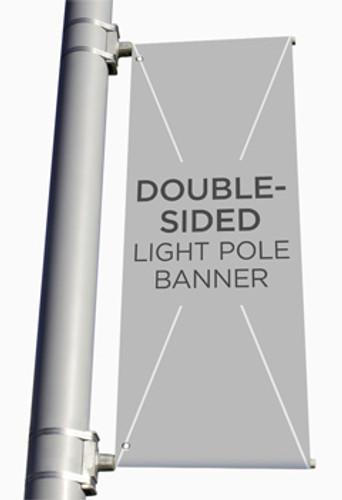 custom church light pole banners