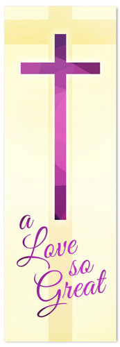 A Love So Great - Christian Easter Banner
