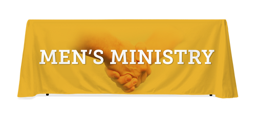 Men's Ministry Table Throw