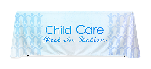 Child Care Station Table Throw