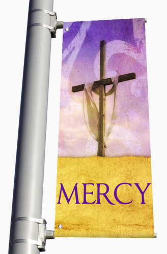 Easter Light Pole Banners