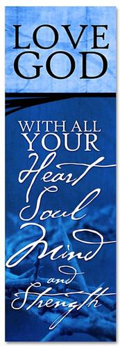 Blue Commandment Series Banner
