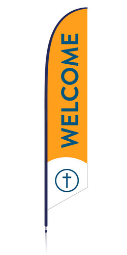 Feather - Outdoor Banner B72 VF