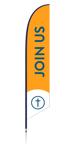 Feather - Outdoor Banner B73 VF
