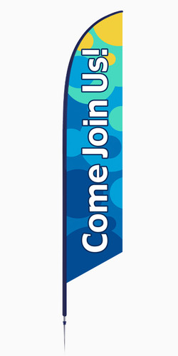 Feather - Outdoor Banner B90 VF