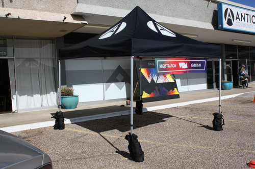 Event Tent with (optional) Sandbags