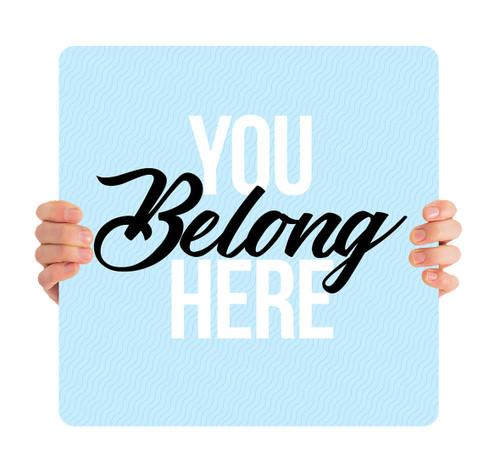You Belong Here Blue HH0014