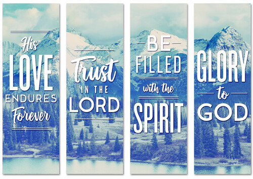 BC130 Be Filled With The Spirit - Mountains