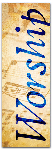Classic Notes - Worship Blue - WS023