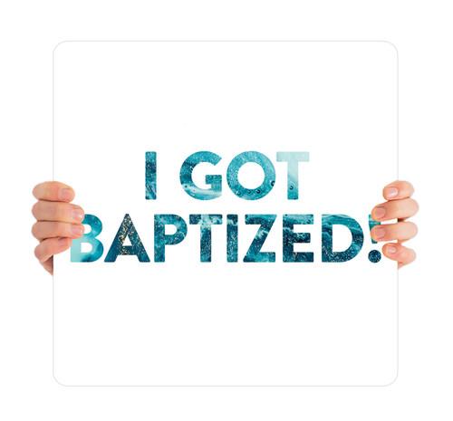 Blue Swirl Fill - I Got Baptized - BHH007
