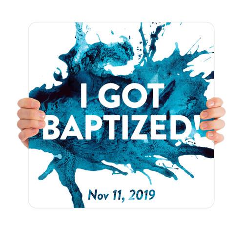 Blue Splash - I Got Baptized with Date - BHH009