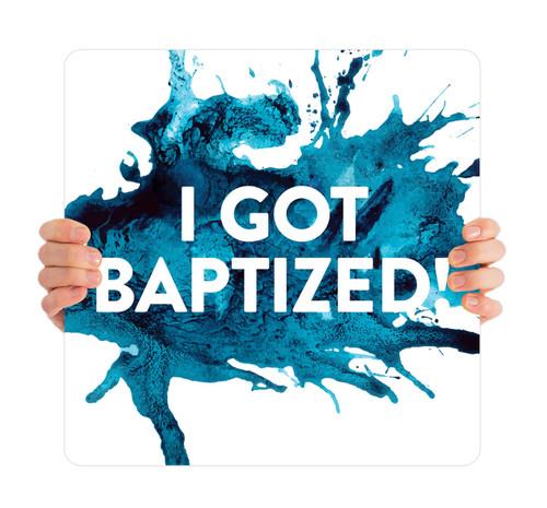 Blue Splash - I Got Baptized - BHH011