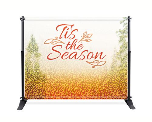 Pattern Tree Backdrop - Tis the Season - CBB026