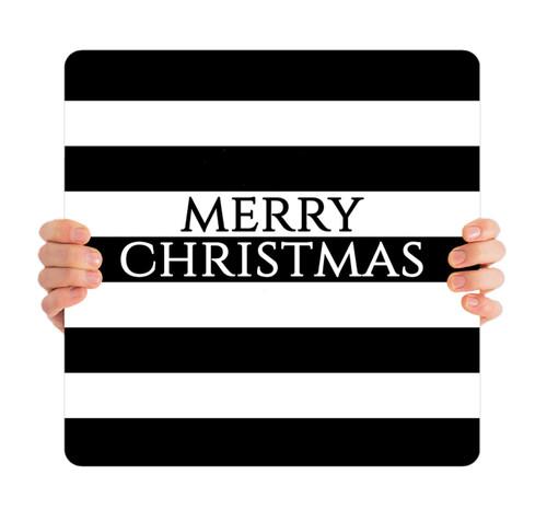 Black Stripes - Merry Christmas - CHH016