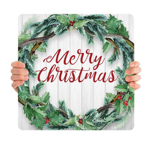 Wreath Shiplap - Merry Christmas - CHH026
