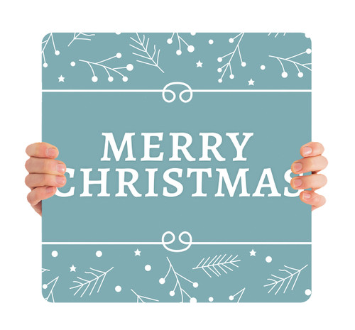 Blue Twigs - Merry Christmas - CHH044