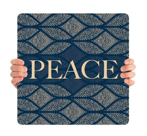 Blue Medallion - Peace - CHH053