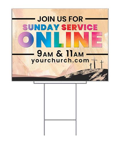 Stream Online Yard Sign