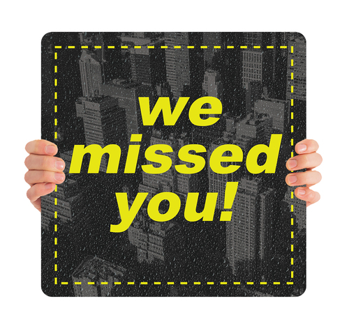 ReOpen Handheld - Style 2 - We Missed You