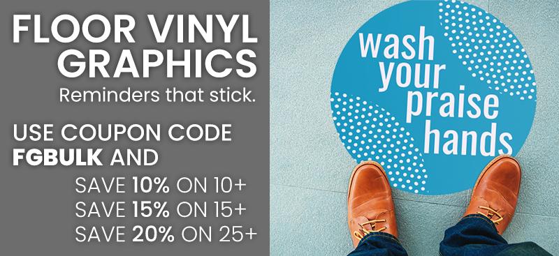 floor vinyl graphics