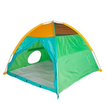 Super Duper 4-Kid II Dome Tent - Blue / Green / Orange