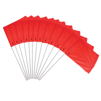Red Flag Set 12 Piece