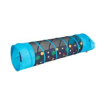 Galaxy with Glow n' the Dark Stars 6' Play Tunnel with Connecting Lip