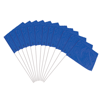 Blue Flag Set 12 Piece