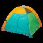 Super Duper 4-Kid II Dome Tent - Blue / Green / Orange