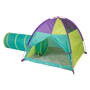Neon Hide-Me Tent + Tunnel Play Combo