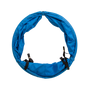 Blue Agility 3' Tunnel with 8' Chute