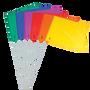 36 Piece Color Flag Set