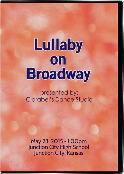 Lullaby on Broadway Case Cover