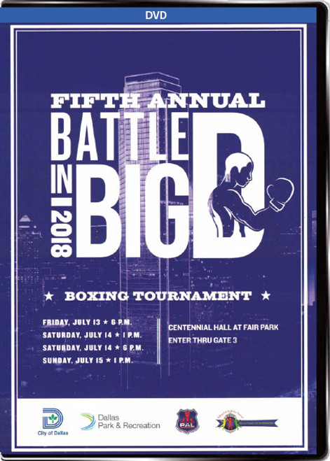 Battle in Big D Boxing Tournament