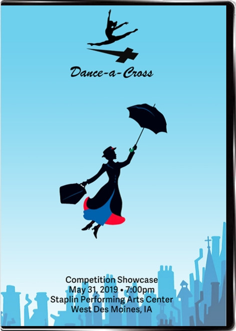 Dance-a-Cross Competition Showcase Front
