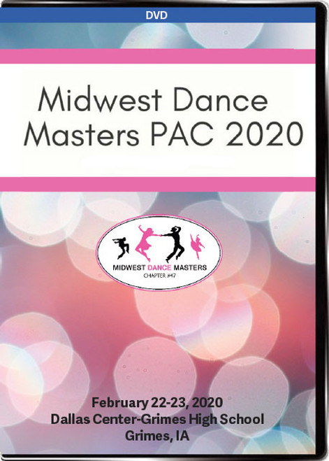 Midwest Dance Masters Solo Title & PAC 2020