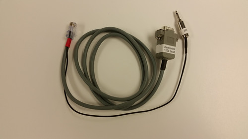 Cable - K115 Kantronics 1200 baud TNC DB-9(m) to KENWOOD RJ-45 mic and external speaker