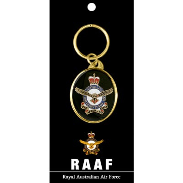Air Force Key Ring On Card