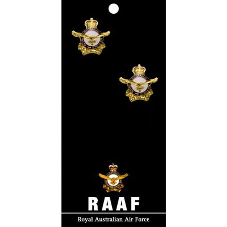 Air Force Cuff Links On Card