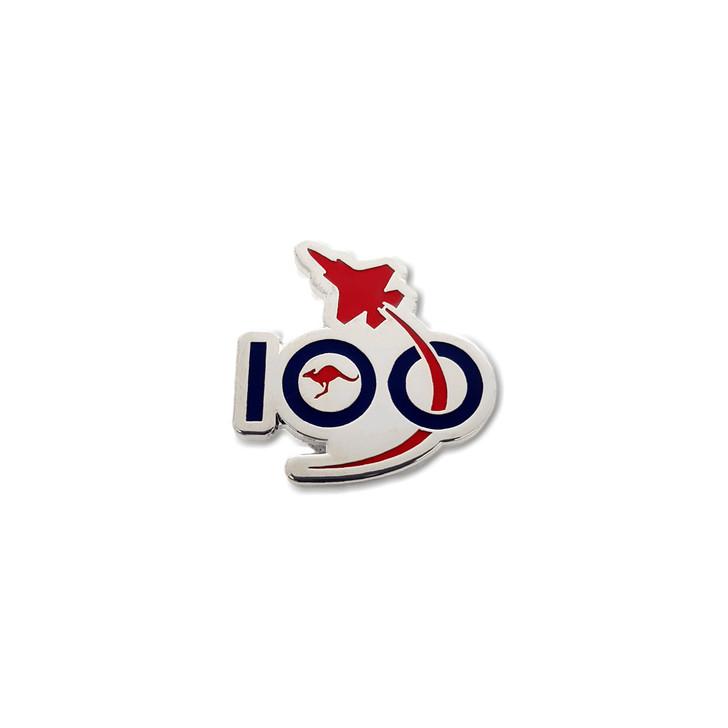 Air Force 100 Silver Logo Pin