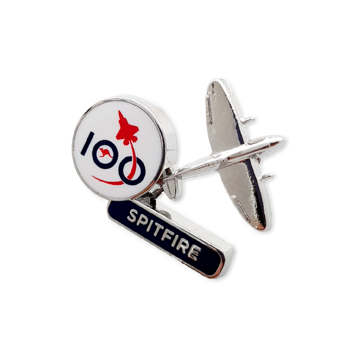 Air Force 100 Spitfire Pin