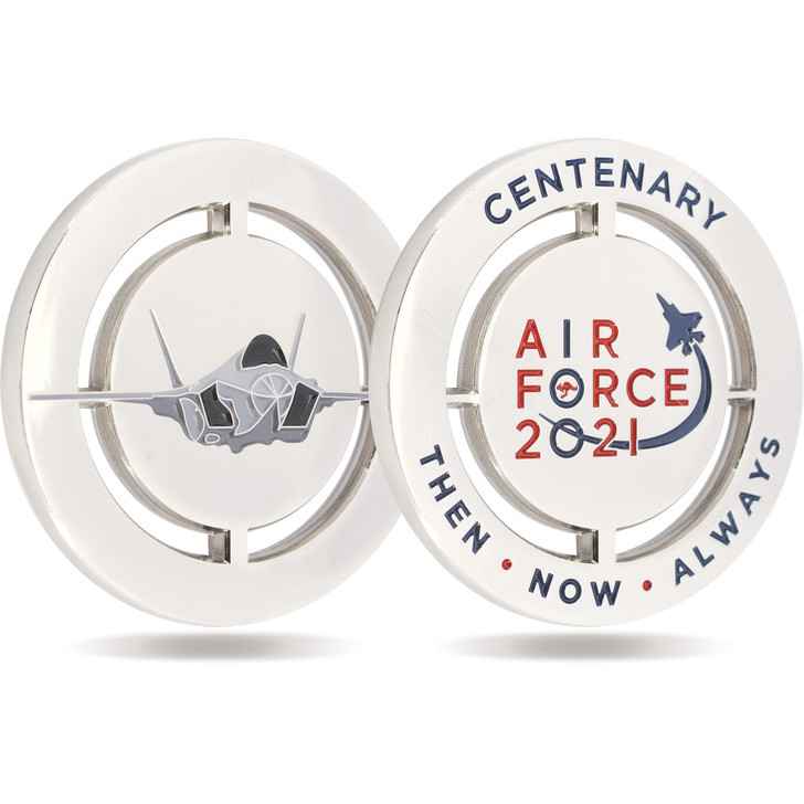 Air Force 100 Medallion - F-35 Cut out