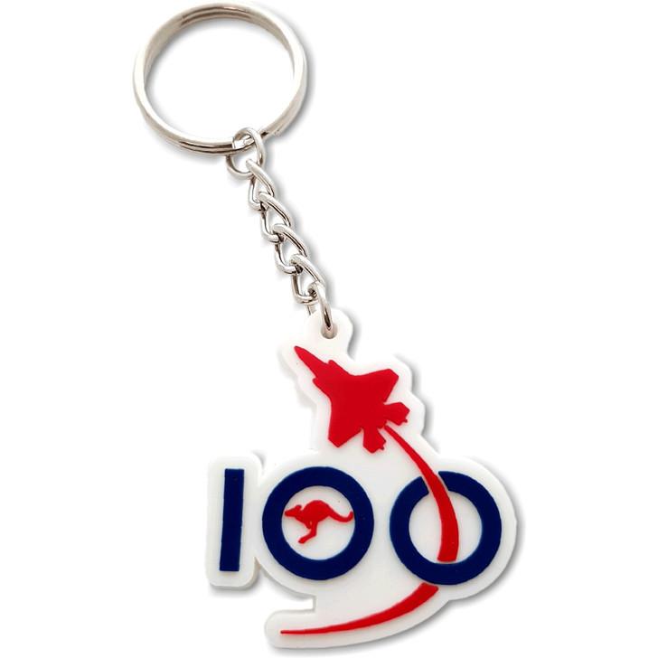 Air Force 100 PVC Logo Keyring