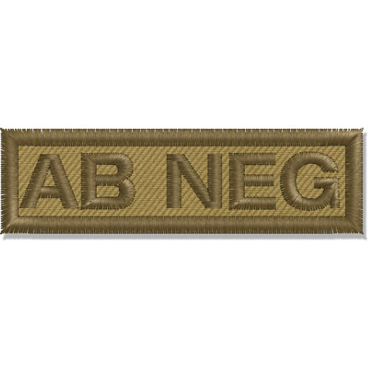 Contact Gear Blood Group Patch AB Neg