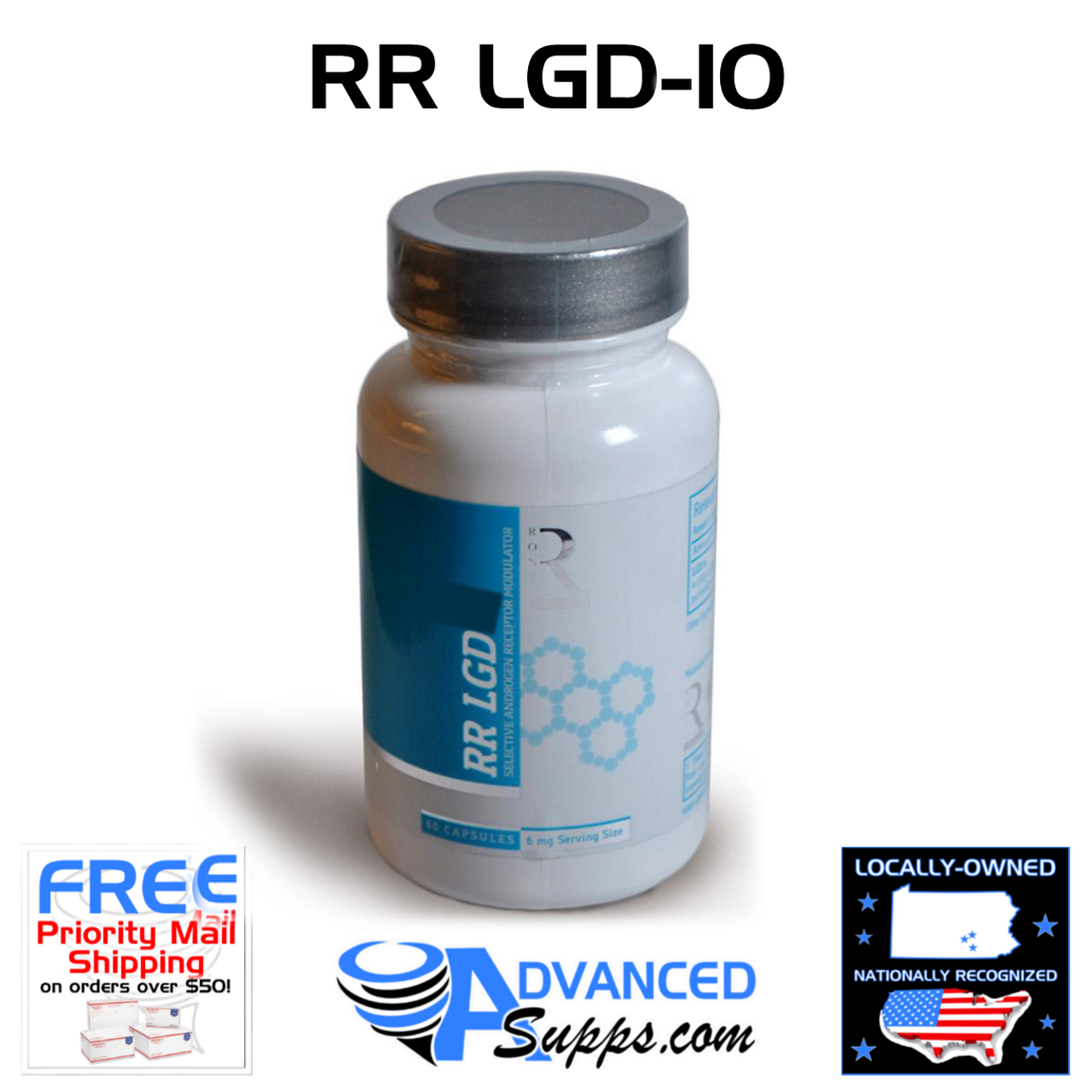 RR LGD-10 Ronix Research (Now Higher Dosed!)