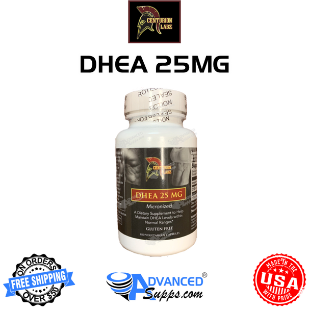 Centurion Labz, Dhea, 25MG, booster