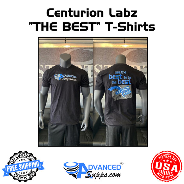 """Centurion Labz """"USE THE BEST"""" Shirt [50% off with code 'CLEARANCE']"""