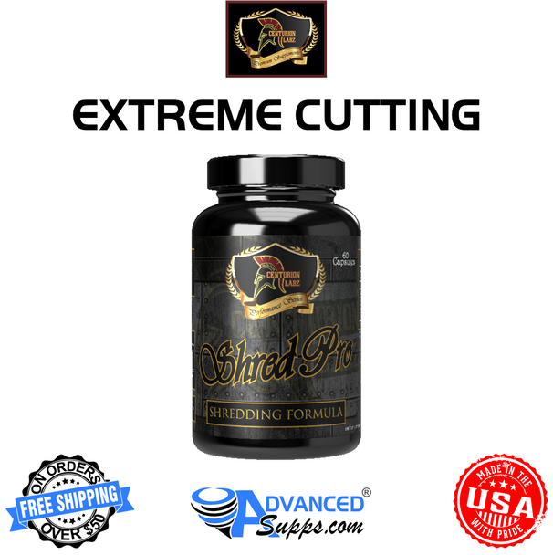 Shred Pro, extreme cutting, fat burner, weight loss, centurion labZ