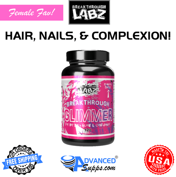 Breakthrough Glimmer, hair, skin, nails, beauty, female, formula, complexion, health, glimmer