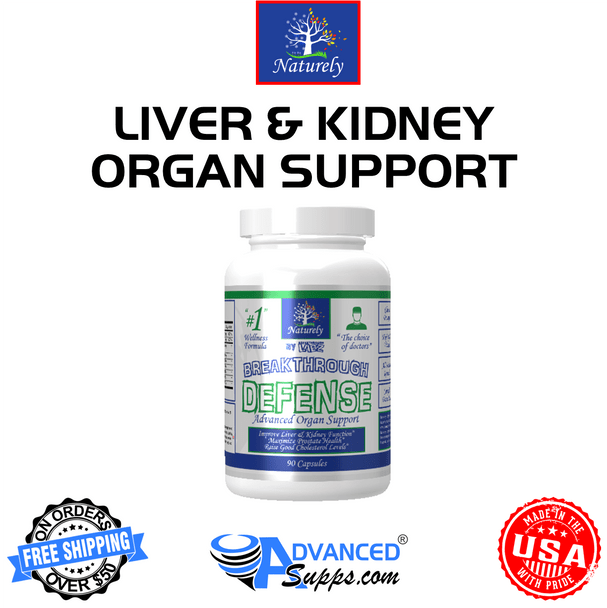 DEFENSE: Liver & Kidney Health* Now with 500mg of NAC!